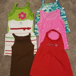 Toddler girls tanks